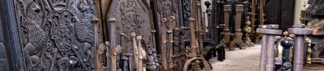 Placa de chimenea hierro fundido