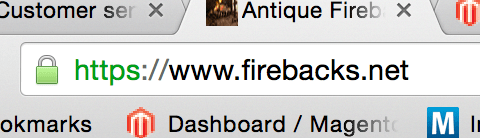 SSL connection of Firebacks.net