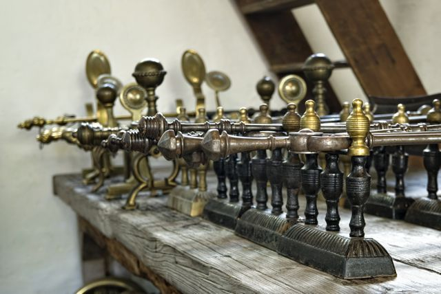 Antique fireplace accessories for sale