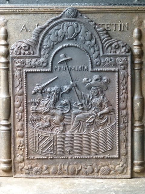 Louis XIII Kaminplatte