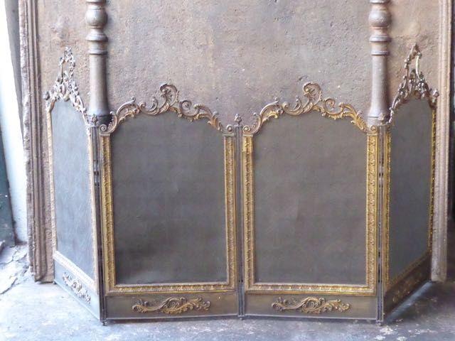 Louis XV Funkenschutzgitter