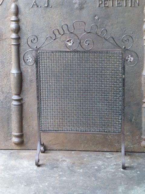 Pare feu style Art Nouveau