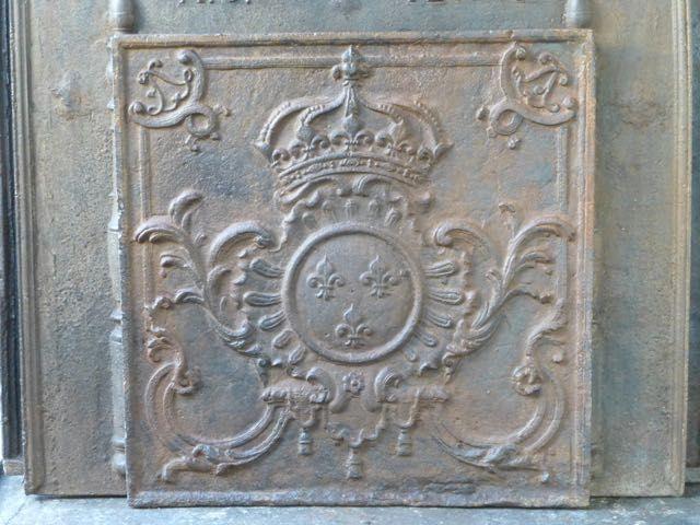 Plaque de cheminée époque Louis XV