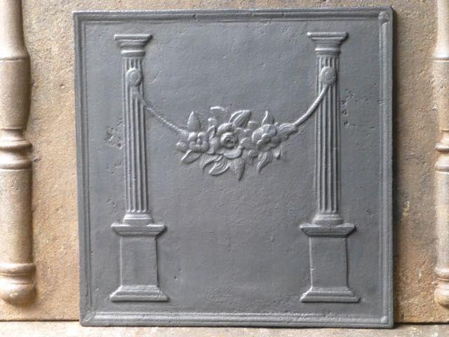 Plaque de cheminée style néoclassique
