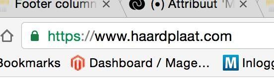 SSL verbinding Haardplaat.com