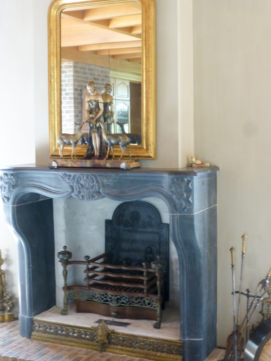 Fireplace grate and  fireplace tools in Soest, Netherlands