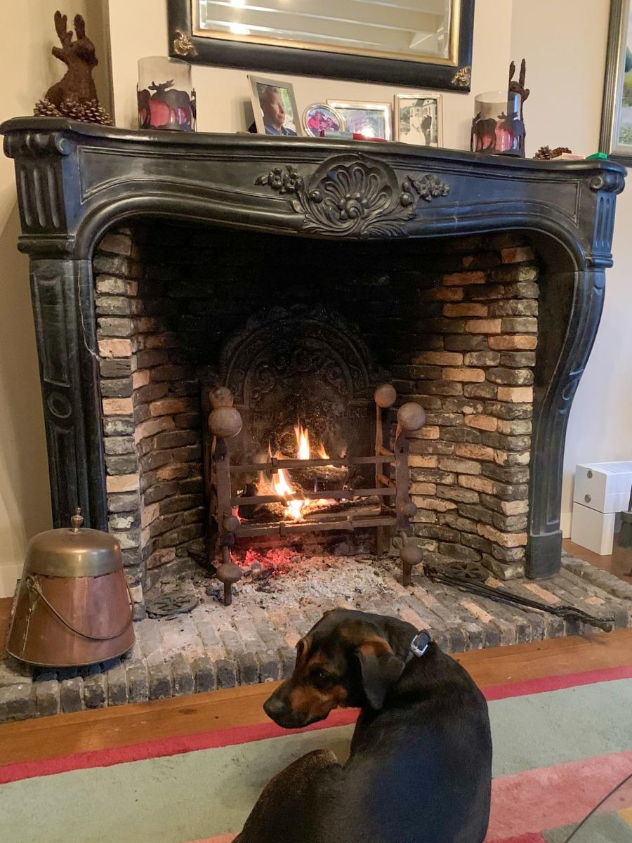 Fireplace in Amerongen