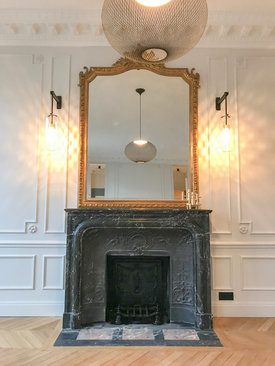 Fireplace in Paris