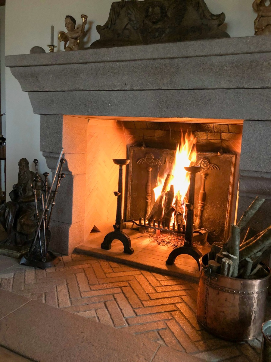 Fireplace Fireback in Poland